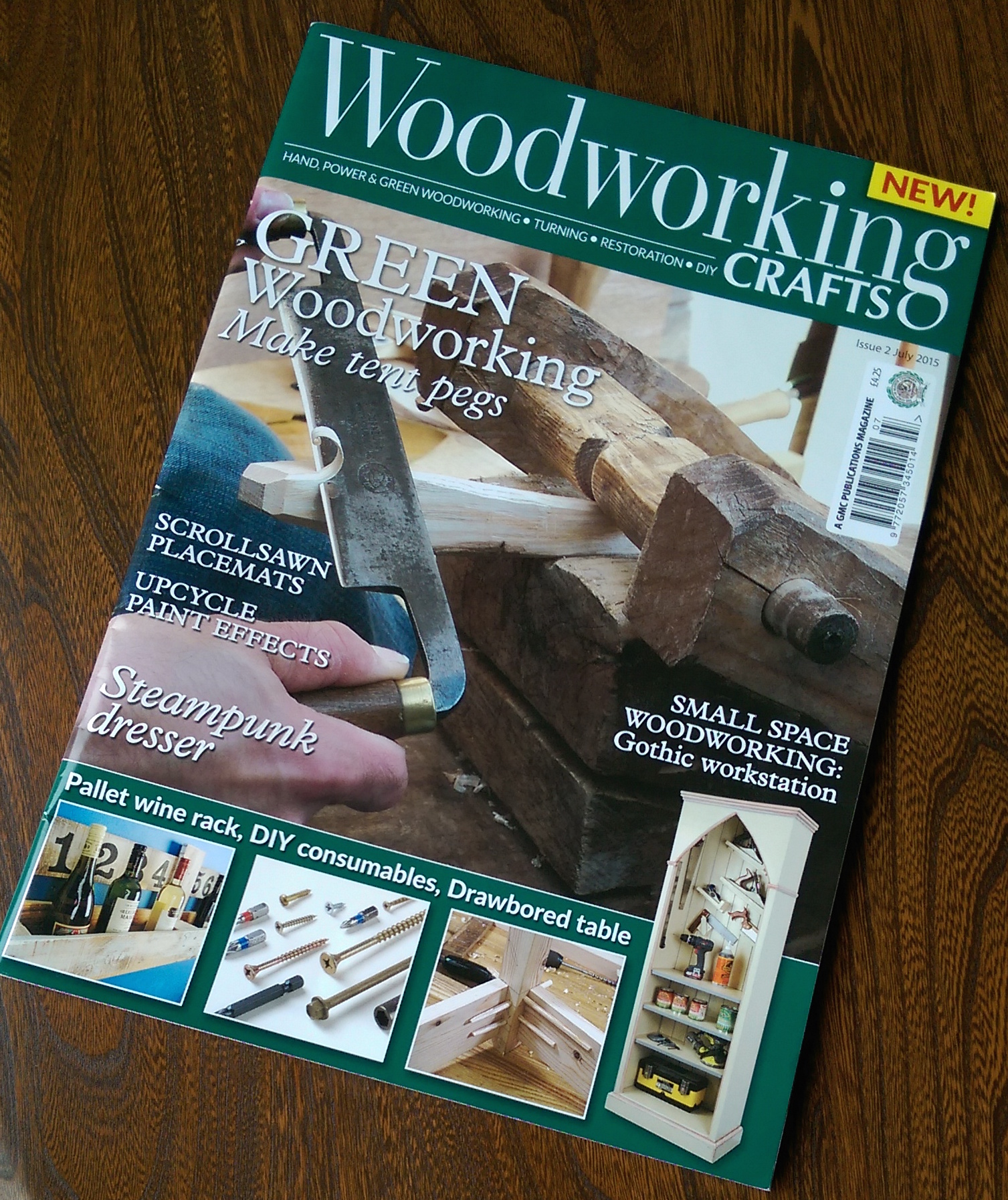 Woodworking crafts july
